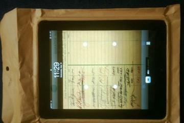 iPad - phong bì thư
