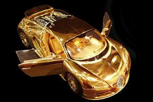 Mô hình Bugatti Veyron phiên bản kim cương