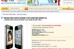 Iphone 4 sắp được phân phối chính thức tại Việt Nam
