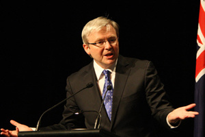 Chứng khoán châu Á tăng điểm sau khi Thủ tướng Australia từ chức