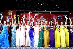 Hoa hậu Việt Nam 2010: 37 người đẹp chính thức bước vào Chung kết
