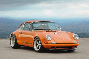 Singer sáng tạo với Porsche 911