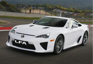 Lexus cho phép khách hàng mua LFA thay vì thuê