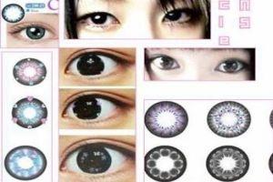 Mắt to với kính giãn tròng: đẹp và hại