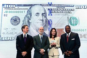 Cách nhận biết tiền giả đối với Đô-la Mỹ mới