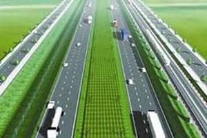 Xây đường bộ nối hai tuyến đường cao tốc