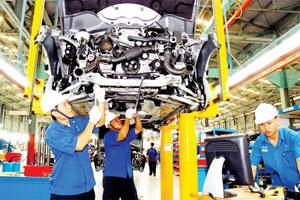 Vì sao công nghiệp giảm đà tăng trưởng?