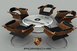 Ghế ngồi phong cách Porsche