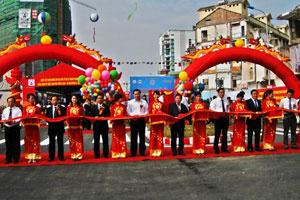 Khánh thành đường Lê Văn Lương kéo dài quy mô 700 tỷ đồng