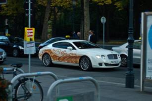 Bentley Continental GT với pha lê Swarovski