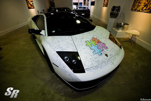 "Lamborghini Murcielago LP640 ""mặt hề"""
