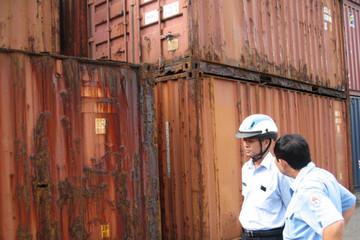 TP.HCM: Khoảng 1.300 container tồn đọng tại các cảng