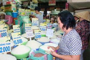 Cuối năm giá gạo nhiều biến động
