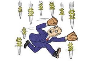 Khi giá cổ phiếu rơi tự do: Đứt tay vì bắt `dao`
