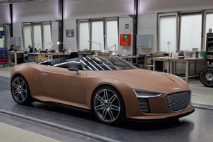 Quá trình chế tạo Audi e tron Spyder