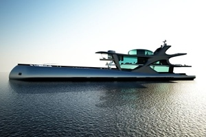 Ý tưởng siêu du thuyền 200 triệu USD