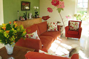 Lựa chọn ghế sofa bọc vải cho mùa đông ấm áp