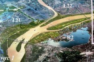 """Hà Nội tái khởi động dự án """"thành phố ven sông Hồng"""""""