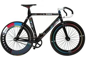 Xe đạp nghệ thuật thời số hóa