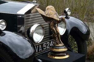 Biểu tượng cỡ lớn ``Tiểu thư bay`` của Rolls-Royce