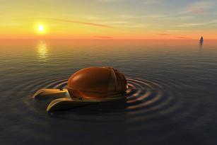 """Tàu lặn mini - """"Đồ chơi"""" cho du thuyền"""