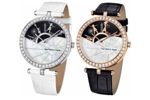 Những chiếc đồng hồ độc đáo của Van Cleef & Arpels