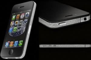 iPhone 4 kim cương của Amosu