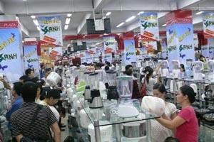 Lễ hội giảm giá tại các siêu thị điện máy