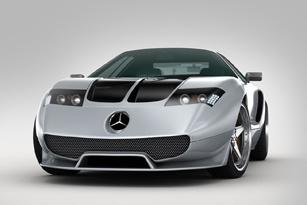 Mercedes-Benz Ciento Once cửa cánh chim
