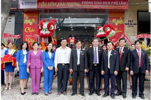 SouthernBank: đưa vào hoạt động phòng giao dịch Phú Lâm