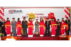 HDBank khai trương HDBank Hải Phòng