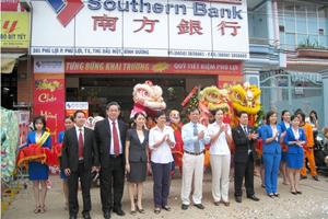 Southern Bank khai trương 2 phòng giao dịch và 1 quỹ tiết kiệm mới