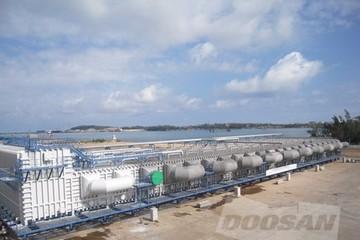 Doosan Vina sản xuất thiết bị xử lý nước biển