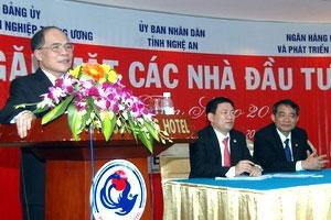 Hơn 9.600 tỷ đồng thỏa thuận đầu tư vào Nghệ An