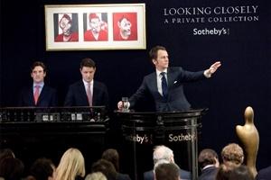 Đấu giá tranh siêu thực tại Sotheby's