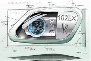 Rolls-Royce giới thiệu 102EX Electric Phantom