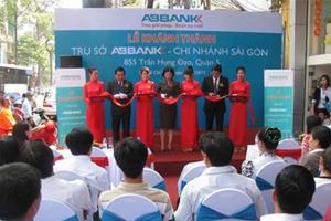 ABBANK khánh thành chi nhánh Sài Gòn