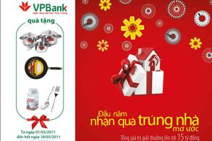Đầu năm nhận quà, trúng nhà mơ ước cùng VPBank