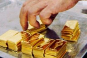 Giá vàng đã về mức thấp nhất trong 10 ngày