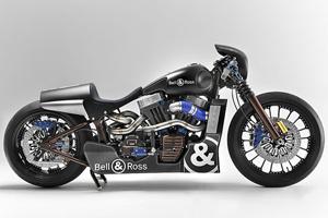 Mô tô Harley Davidson cảm hứng từ đồng hồ