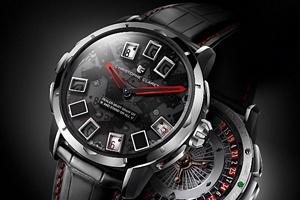 Baselworld 2011: Đồng hồ Christophe Claret Blackjack