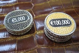Bộ phỉnh Poker trị giá 150 tỉ
