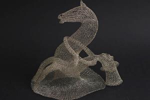 Nghệ thuật đan dây kẽm