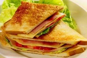 Máy làm bánh mì kẹp sandwich tiện lợi cho bữa sáng