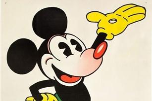 753 triệu đồng cho tấm áp phích chuột Mickey