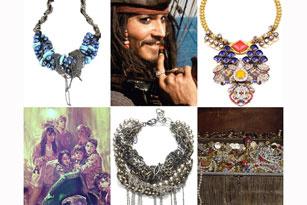 10 kiểu vòng cổ lấy cảm hứng từ những báu vật được chôn giấu