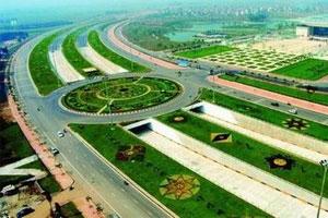 Xây dựng tuyến đường trục Tây Thăng Long - Hà Nội