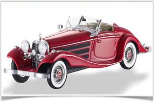 Bộ sưu tập kỷ niệm 125 năm của Mercedes