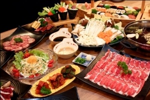 Thưởng thức Buffet Nhật tại nhà hàng Yakiniku Shiki