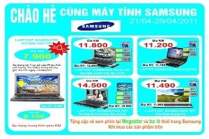 Chào hè cùng Notebook Samsung
